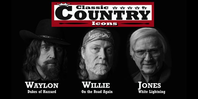 Classic Country Icons: Willie, Waylon, & George
