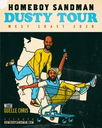 "Homeboy Sandman and Quelle Chris' ""Dusty Tour"" featuring Special Guests"