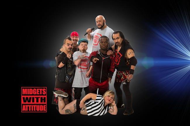 Midgets with Attitude - Midget Wrestling Entertainment!
