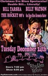 BILLY WATSON AND BILL TARSHA & THE ROCKET 88S