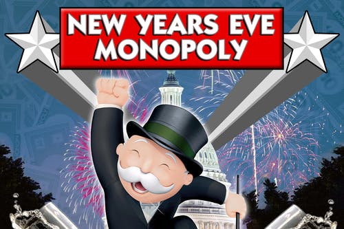 New Years Eve MONOPOLY