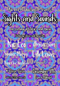 Sights & Sounds: An Evening of Stories and Music