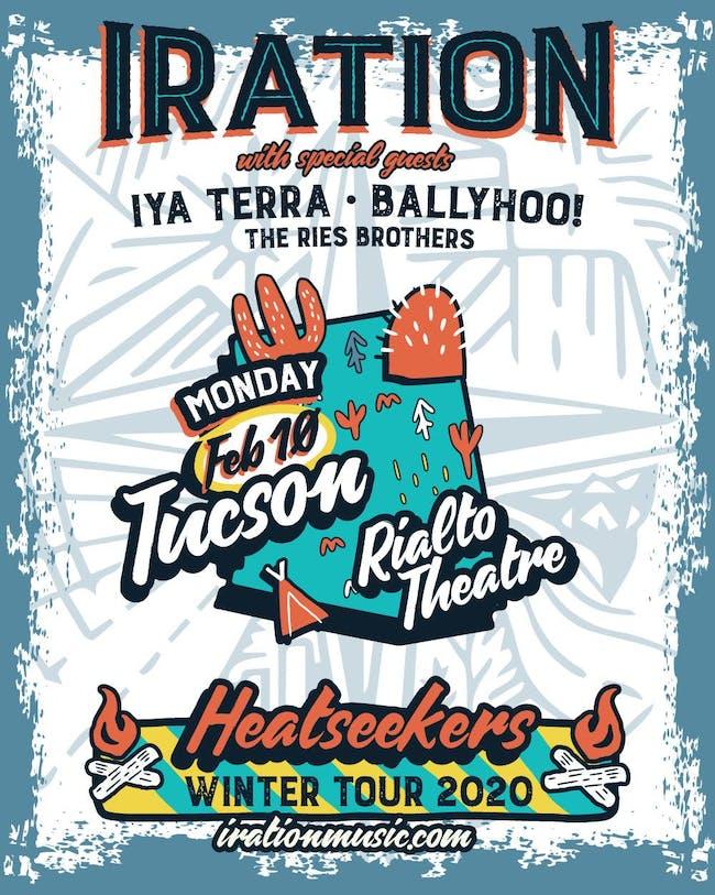 IRATION: Heatseekers Winter Tour