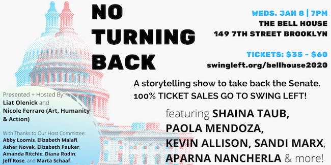 Ny Auto Show Promo Code 2020.No Turning Back A Storytelling Show To Flip The Senate