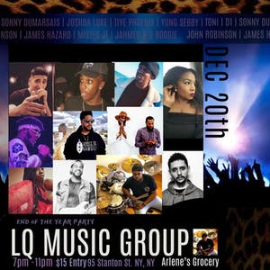 LQMUSICGROUP END Of The Year Party