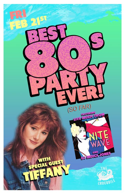 The Best 80s Party Ever! (So Far) w/ Nite Wave + Tiffany