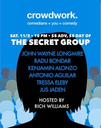 CROWDWORK: You + Comedy