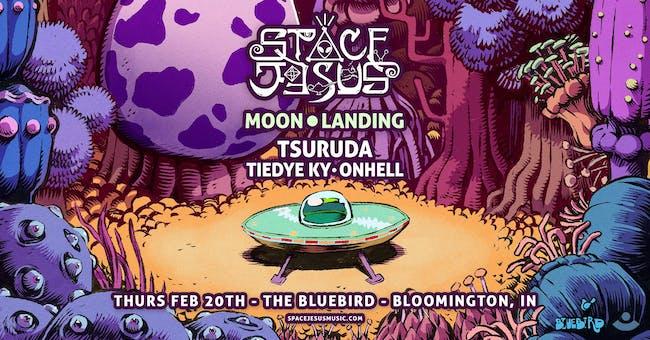 Space Jesus - Moon Landing Tour