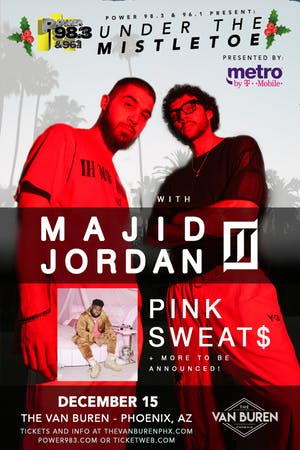 MAJID JORDAN & PINK SWEAT$ - POWER 98.3 UNDER THE MISTLETOE
