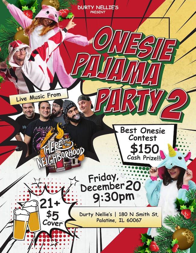 Second Annual Onesie Pajama Party