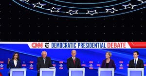 December Democratic Debate Watch Party at Manny's!