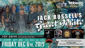 Jack Russell's-Great White  (80's HOLIDAY PARTY/TOYDRIVE)