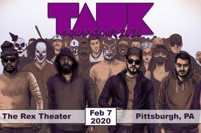 TAUK: Squad Tour 2020 with Optimus Riff