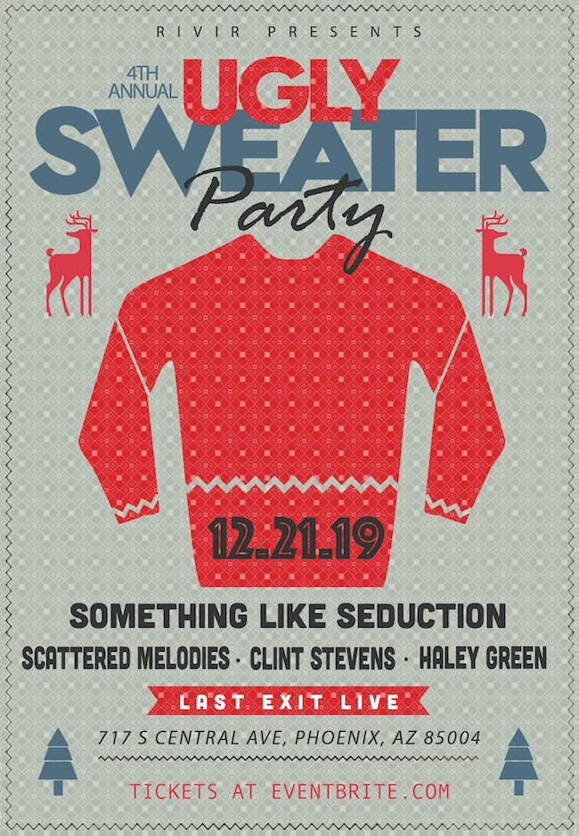Ugly Sweater Party ft. SLS, Scattered Melodies, Clint Stevens & Haley Green