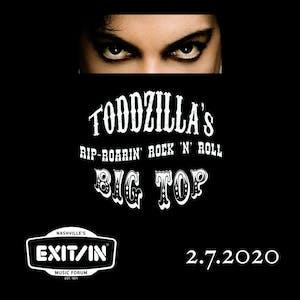 Toddzilla's Rip Roarin' Rock 'n' Roll Big Top Prince Tribute