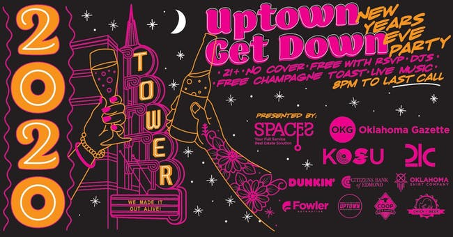 Uptown Get Down New Years Eve Party