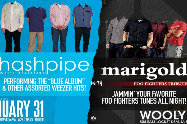 Hashpipe: A Tribute To Weezer & Marigold: A Tribute To Foo Fighters