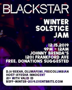 Blackstar Winter Solstice Jam