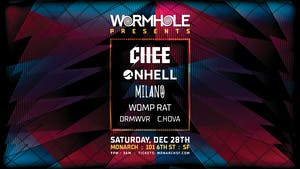 Chee, ONHELL, Milano & more: Wormhole x Monarch