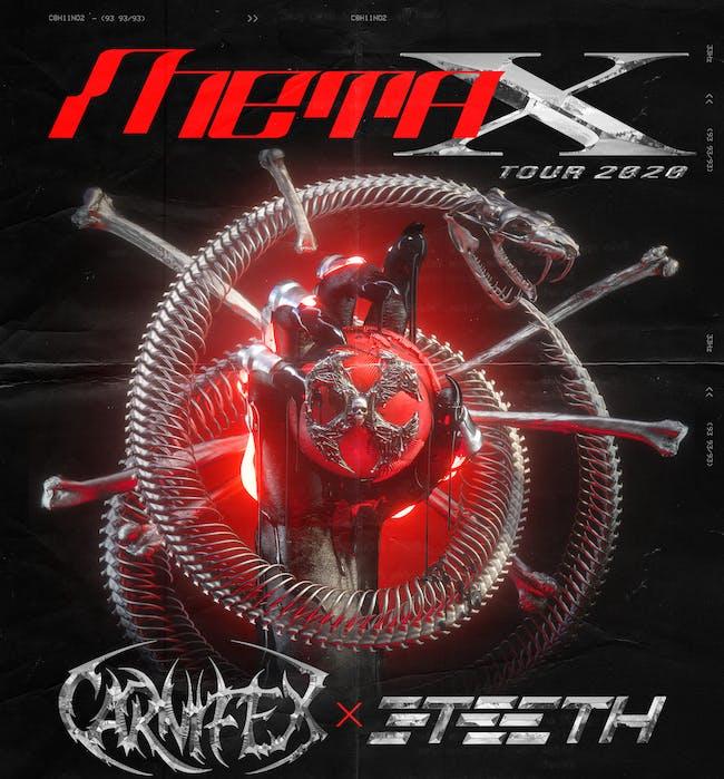 META X TOUR: CARNIFEX / 3TEETH