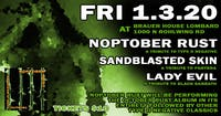 Metal Tributes Noptober Rust, Sandblasted Skin & More at BHouse LIVE