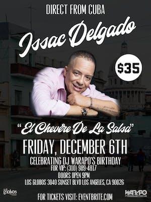 Issac Delgado at Los Globos in Los Angeles - December 6th