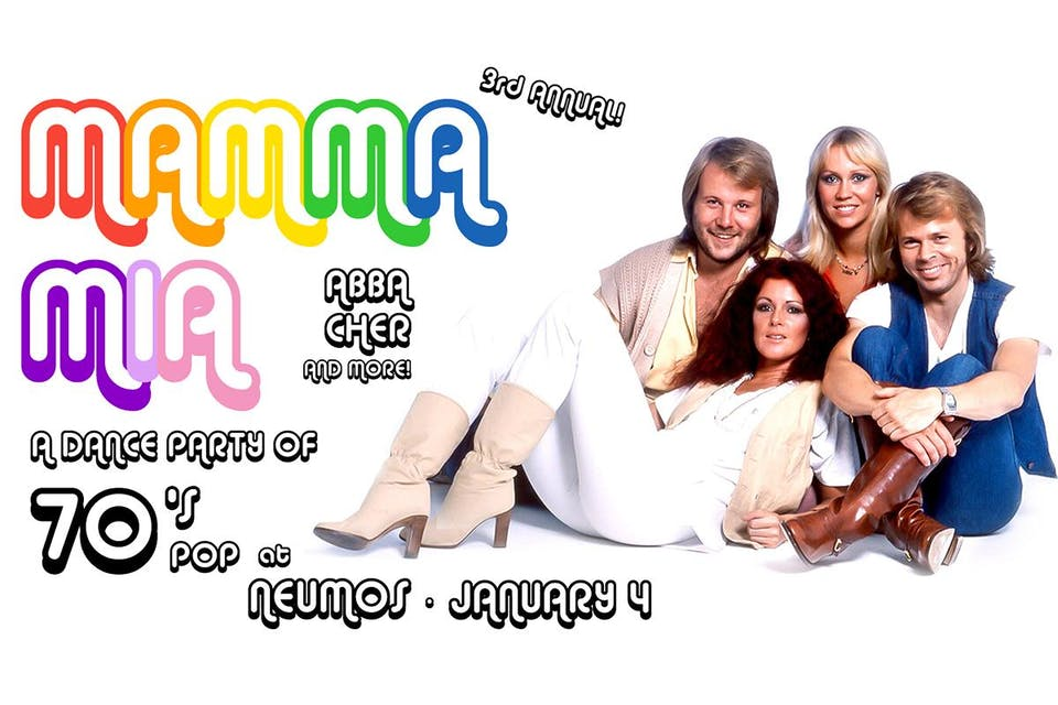 Mamma Mia - 3rd Annual with Disco Vinnie