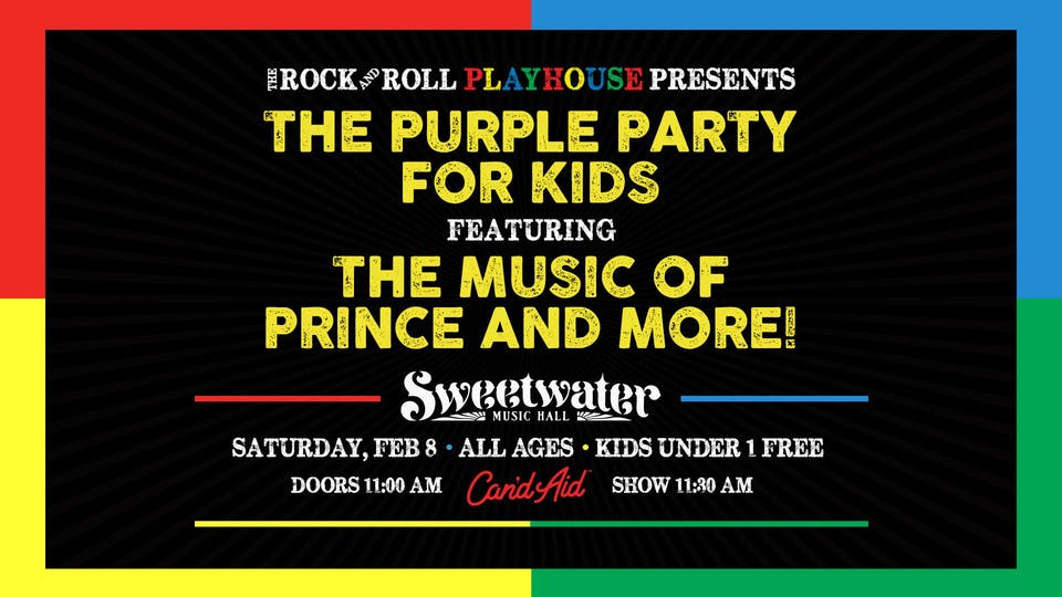 The Purple Party ft. Music of Prince for Kids + more