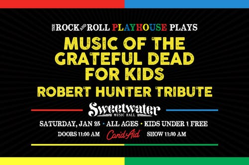 Music of Grateful Dead for Kids // Special Robert Hunter Tribute