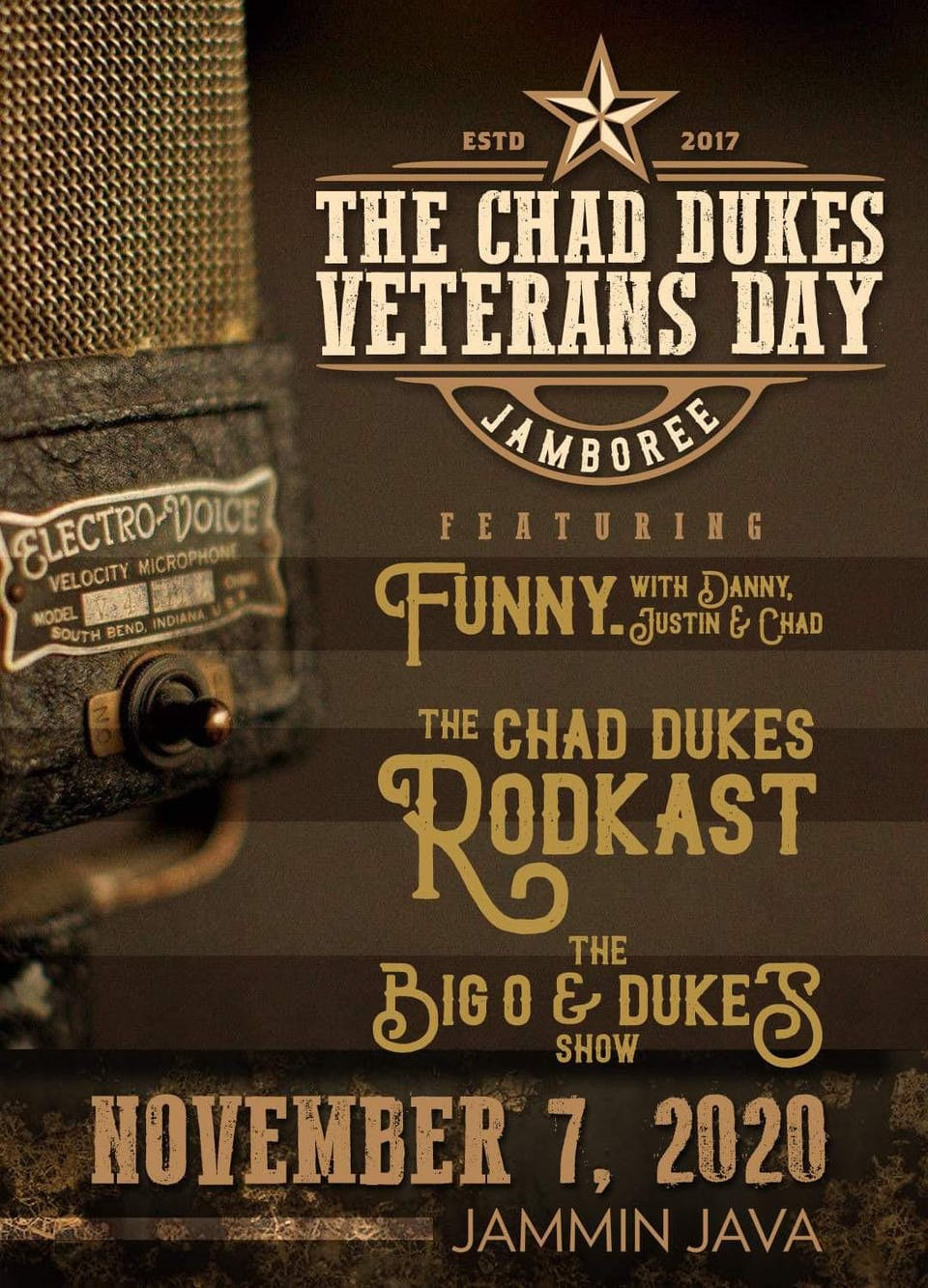The Chad Dukes Veterans Day Jamboree