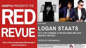 The Red Revue feat Logan Staats, Cliff Cardinal and Jace Martin