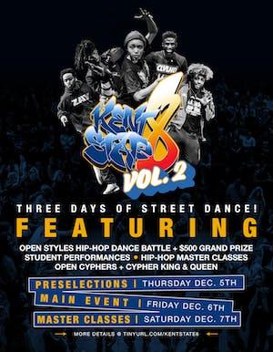 Kent State 8— vol.2 (Open Styles Dance Battle) BSIDE