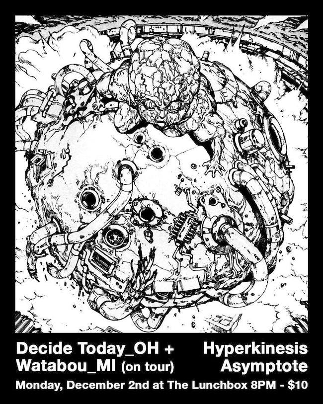 Decide Today // Watabou // Hyperkinesis // Asymptote