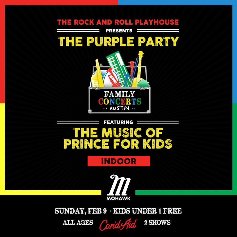 The Purple Party ft. Music of Prince for Kids - SOLD OUT @ Mohawk (Indoor)