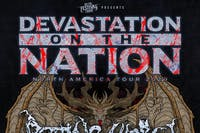 Devastation On The Nation Tour feat. Rotting Christ at El Corazon