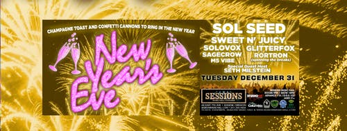 New Year's Eve with Sol Seed