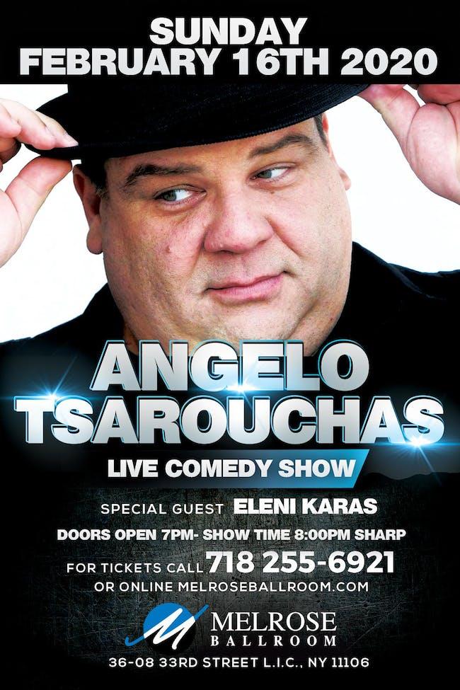 Angelo Tsarouchas Live Comedy Show
