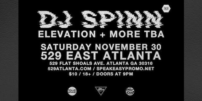 DJ Spinn, Elevation