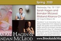 Sarah Hagen & Brendan McLeod