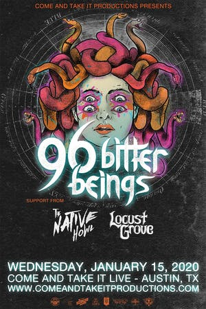 96 BITTER BEINGS (Feat. Deron Miller, formerly of CKY)