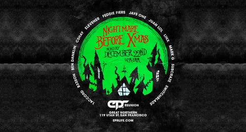 EPR NIGHTMARE BEFORE CHRISTMAS