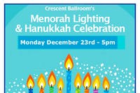 Menorah Lighting and Hanukkah Celebration