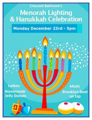 Menorah Lighting and Hanukkah Celebration