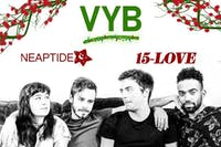 Holiday Bash w/ VYB, Neaptide and 15-Love