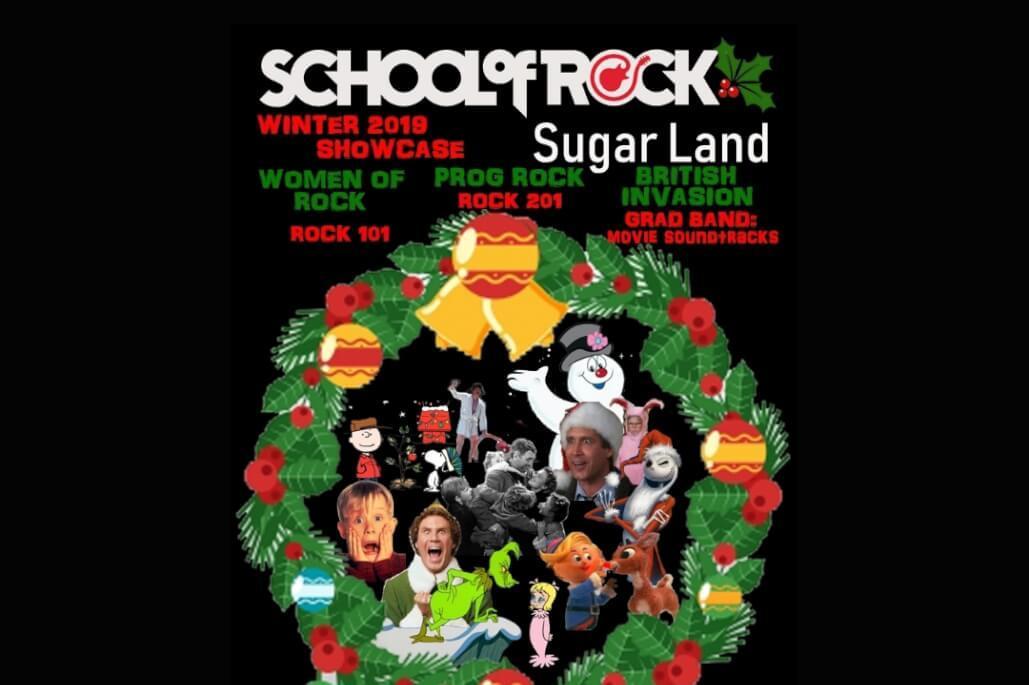 SCHOOL OF ROCK SUGAR LAND / CLEAR LAKE ENOF OF SEASON SHOWCASE