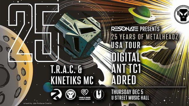 Digital, Ant TC1, Adred, T.R.A.C., Kinetiks MC