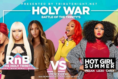 Holy War: Battle of the Trinities Tribute Night