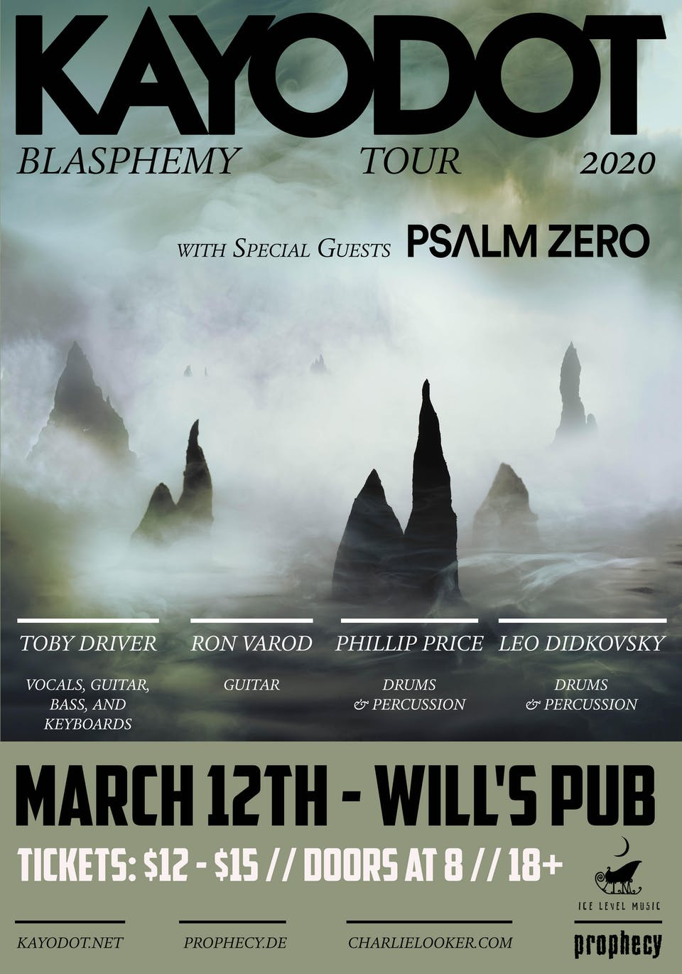 Kayo Dot and Psalm Zero in Orlando