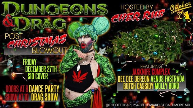 Dungeons and Drag: Post Christmas Blowout!