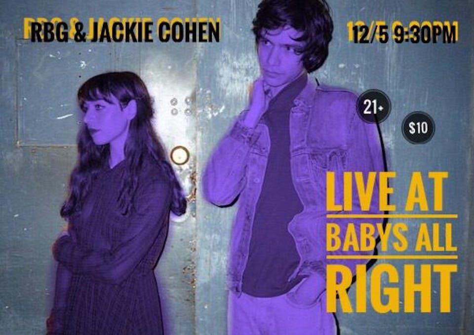 Rubber Band Gun x Jackie Cohen Duo Show